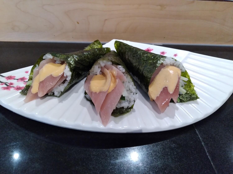 Spicy Tuna Cone