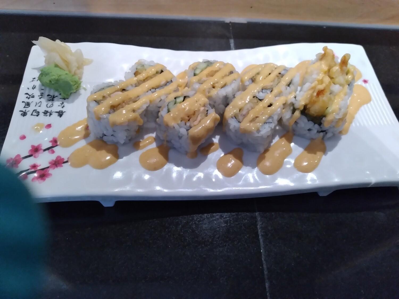 Spicy Salmon Tempura Roll