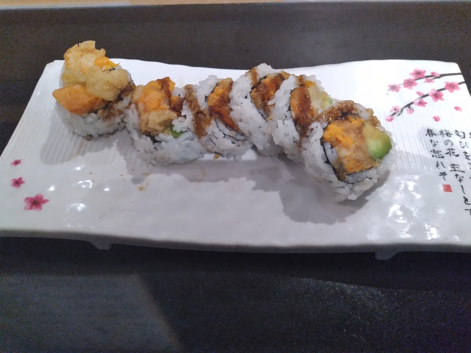Yam with Avocado Roll