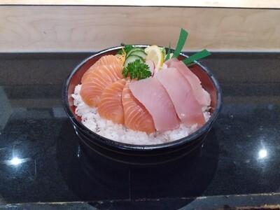 Tekka & Salmon Donburi