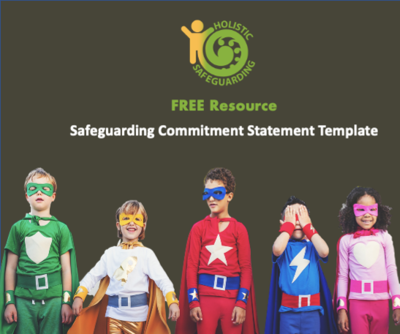 Safeguarding Commitment Statement Template - FREE