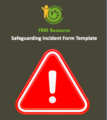 Safeguarding Incident Form Template - FREE