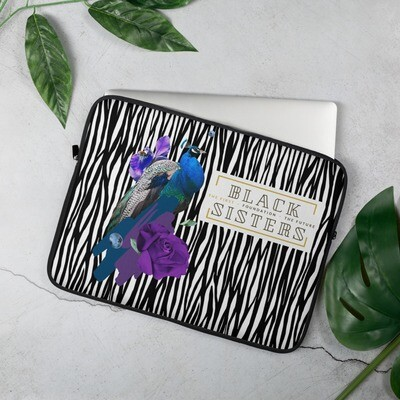 Black Sisters: The First-Foundation- The Future. -   Laptop Sleeve