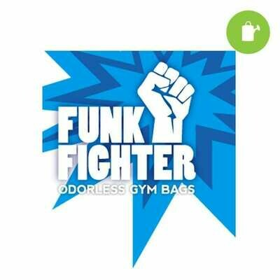 Funk Fighter Daily Black Travel Bag 7x12 inch