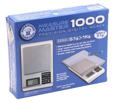 Measure Master Digital Scale with Tray