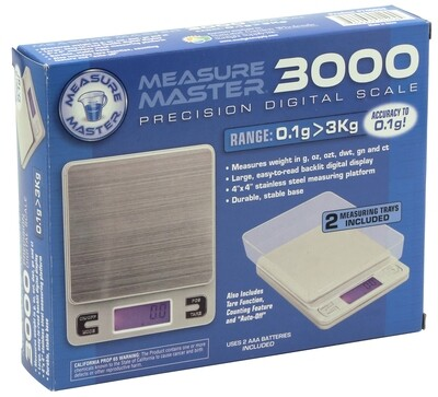 Measure Master Precision Digital Scale with 2 Trays