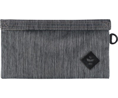 Revelry Supply Confidant Stripe Black Money Bag