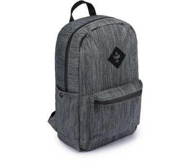 Revelry Supply Escort Stripe Black Carbon-Lined Backpack
