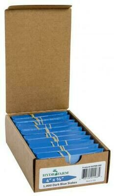 Hydrofarm Plant Stakes Labels Various Colors- Cases of 1000