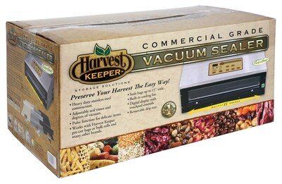 Harvest Keeper Commercial Grade Heavy-Duty Fully Automatic Vacuum Sealer with Digital Display
