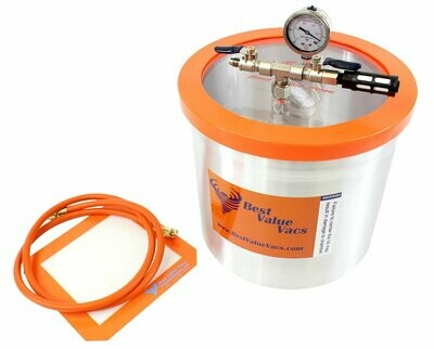 SVac Aluminium Gasketed Vacuum Chamber 3 gallon
