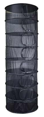 Grower's Edge 8 Layer Collapsable Dry Rack with Clips