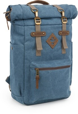 Revelry Supply The Drifter Marine Carbon-Lined Rolltop Backpack
