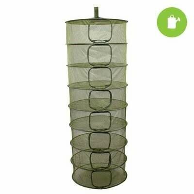 Grow1 8 Layer Collapsable Dry Rack Enclosed with Zipper Opening