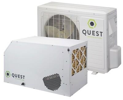 Quest Split Overhead Professional Dehumidifier