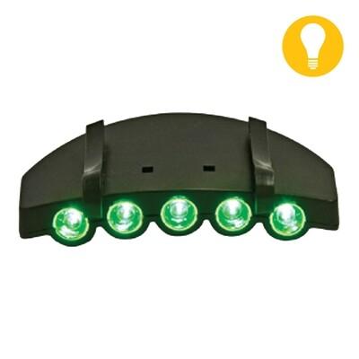 Grow1 Hat & Cap LED Green Light