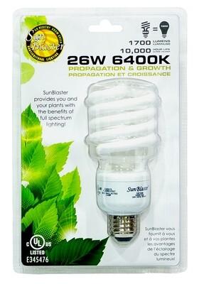Sunblaster CFL Fluroescent Grow Lamp Blue-Spectrum