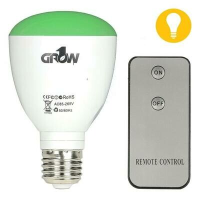 Grow1 Bulb LED Green Light with Remote