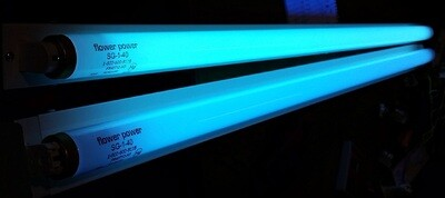 Solacure Flower Power F40 Fluorescent T12 Strip Light Grow Lamp Super UV 4 foot