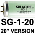Solacure SG-1-20 Fluorescent T12 Strip Light Grow Lamp Universal UV 20 inch