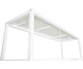 Active Aqua Vertical Shelf White Grow System 81x15.75x 50.5 inch 6 level