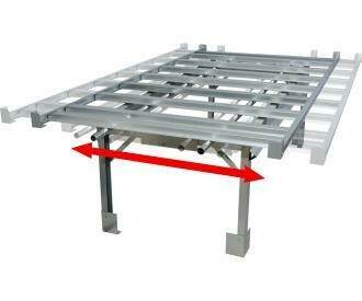 Active Aqua Rolling Bench Stand System