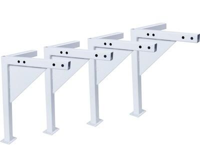 Active Aqua Low Profile White Leg Kit for Medium Universal Tray Stand