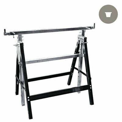 Saw Horses Adjustable Tray Stand Pair 25-40 inch
