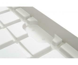 Active Aqua Infinity White Premium Flood Table Tray Infinity Trays End Minus(-)