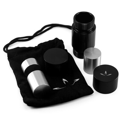 InterPlanetary Development Small Aerospace Aluminium Pollen Press with Multiple Dowel Rods and Carrying Case