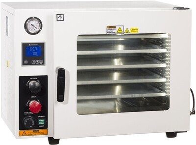 AccuTemp Vacuum Oven with All SST Tubing & Valves LED Lights 1.9 cubic foot