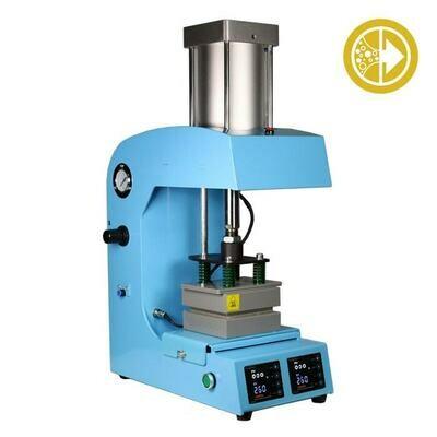 Bubble Magic Pneumatic Rosin Heat Press 5x5 inch 1000 psi