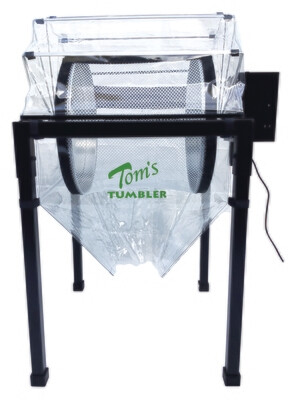 Tom's Tumbler TTT 2200 Commercial System Trimmer/ Pollen Extractor/ Dry Sifter