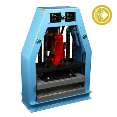 Bubble Magic Hydraulic/ Pneumatic Rosin Heat Press 8x16 inch 12 ton