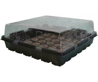 Hydrofarm Jump Start Greenhouse 36 Pellet w/ tray and dome