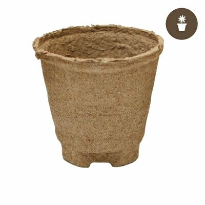 Jiffy Round Peat Pot 4x3.75 inch Case of 1100