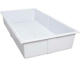 Active Aqua White Premium Deep Flood Table Tray 2x4 foot