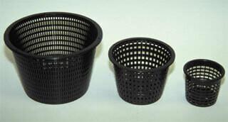 American Hydroponics Round Black Net Pot Cases