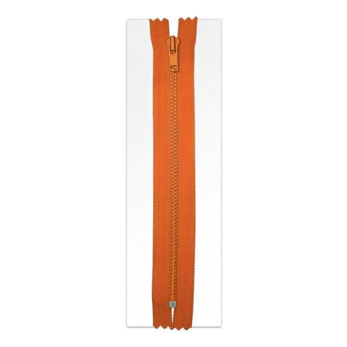 OGS Orange Adhesive Zipper 6.5 foot