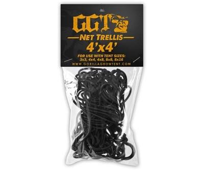 Gorilla Elastic Net Trellis With 7 Hooks 4x4 foot