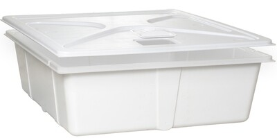 Active Aqua White Premium Kit with Reservoir, Lid, Porthole Cover