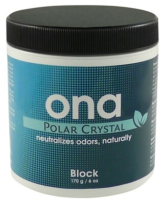 Ona Polar Crystal Scent-Blocking Gel Jar 6 ounce