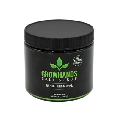 Grow Hands Salt Scrub Resin Removal