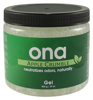 Ona Apple Crumble Scent-Blocking Gel Container 1 liter