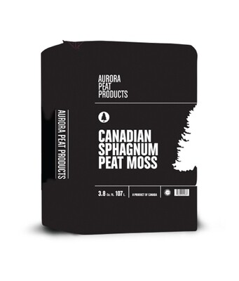 Aurora Innovations Peat Moss 3.8 cubic foot