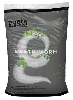 Aurora Innovations Roots Organics Earth Worm Castings 1 cubic foot