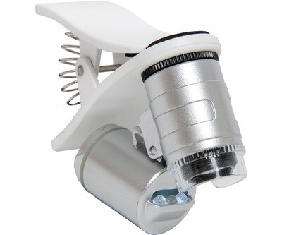 Active Eye Universal UV and LED Mobile Phone Microscope 60X