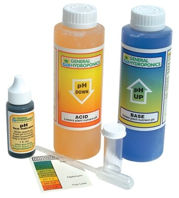 General Hydroponics pH Control Kit with Indicator and Buffers