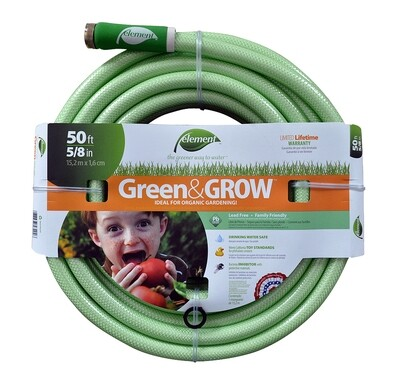 Element Green & Grow Garden Hose 50 foot