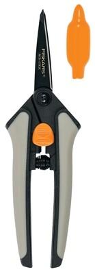 Fiskars Soft-Grip Non-stick Micro-tip Snip Pruning